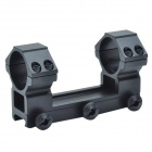 30MM-Caliber Aluminum Alloy Dual Bracket Mount with Hex Wrench - Black