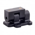 HJ-Y3 Three-axis Aircraft Motor Mount Holder for RC Airplanes - Black