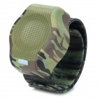 CB03 Stylish Wrist Watch Style Bluetooth Speaker w/ TF - AT Camouflage