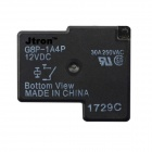 Jtron 4-Pin Power Relay - Negro (12 V / 30 A)