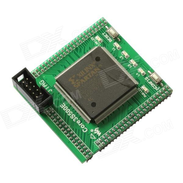 Waveshare Core3S500E / XC3S500E XILINX Spartan3E FPGA Evaluation Development Core Board - Green fast free ship for gameduino for arduino game vga game development board fpga with serial port verilog code