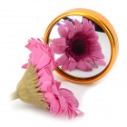 360 Degree HD Blind Spot Mirror rearview Mirror - Golden (2 PCS)