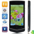 "V851 MTK6572 Dual-core Android 4.2.2 WCDMA Bar Phone w/ 4.0"", FM, Wi-Fi and GPS - Black"