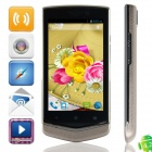 "V851 MTK6572 Dual-core Android 4.2.2 WCDMA Bar Phone w/ 4.0"", FM, Wi-Fi and GPS - Black + Champagne"