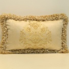 European Luxury Car Cushion / Sofa Cushion / Back Cushion Pillow - Golden Yellow