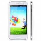 "HTM B9500 Capacitive Screen Android 2.3 Bar Phone w/ 4.5"" / Bluetooth / Wi-Fi - White + Silver"