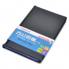Comix A1557 PU Leather Name Card Holder - Black (Hold 240 Sheets)