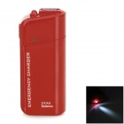 DC-007A Emergency 2 x AA Battery Power Bank Case for Cell Phone - Red