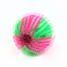 Washing Sucking Ball - Green + Deep Pink (6 PCS)