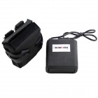 Kinfire Waterproof 8.4V 8800mAh 2-in-Series 4-in-Parallel 18650 Battery Pack for Headlamp - Black