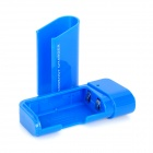 DC-007A Emergency 2 x AA Battery Power Bank Case for Cell Phone - Blue