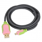 USB 2.0 to Micro USB 5-Pin Charging/Data Transmission Cable for Samsung / HTC / Sony / LG (150cm)