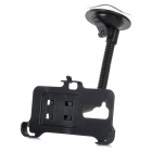 Convenient Car Mounted 360' Rotating Suction Cup Phone Holder for LG G2 - Black