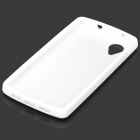 Protective Silicone Back Case for LG Nexus 5 - White