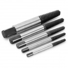 R'DEER RT-Q05 Damaged Bolt Screw Extractor Remover - Black + Silver + Multi-Colored (5 PCS)