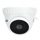 "YanSe YS-835CCW 1/4"" CMOS 700TVL CCTV Dome Camera w/ IR-Cut / 36-LED Night Vision - White"