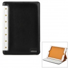 Protective Flip-open PU Leather Case w/ Card Slot for IPAD AIR
