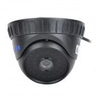 "YanSe YS-835CCB 1/4"" CMOS 700TVL CCTV Dome Camera w/ IR-Cut / 36-LED Night Vision - Black"