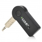 EDUP EP-B3511 Mini Portable 3.5mm Input Bluetooth V3.0 Audio Receiver w/ HF Call + MIC - Black