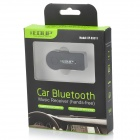 EDUP EP-B3511 3.5mm Bluetooth Audio Receiver w/ HF Call + MIC - Black