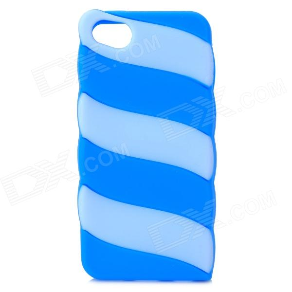 Protective Plastic Case for IPHONE 5C - Blue аксессуар защитное стекло samsung galaxy j2 prime brosco 0 3mm ss j2p sp glass