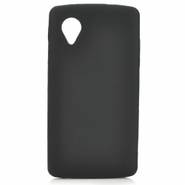 Protective Silicone Back Case for LG Nexus 5 - Translucent White