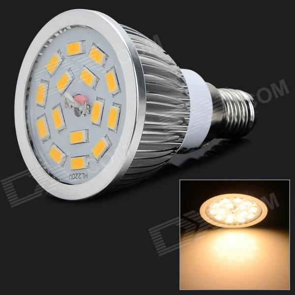 Lexing LX-SD-054 E14 6W 550lm 3500K 15-5730 SMD LED Warm White Light Spotlight (AC 220~240V)E14<br>Form  ColorWhite + SilverColor BINWarm WhiteBrandLexingModelLX-SD-054MaterialAluminum + plastic + glassQuantity1 DX.PCM.Model.AttributeModel.UnitPowerOthers,6WRated VoltageAC 220-240 DX.PCM.Model.AttributeModel.UnitConnector TypeE14,Others,E14Chip BrandOthers,SananEmitter TypeOthers,5730 SMD LEDTotal Emitters15Theoretical Lumens675-750 DX.PCM.Model.AttributeModel.UnitActual Lumens450-550 DX.PCM.Model.AttributeModel.UnitColor Temperature12000K,Others,2800-3500KDimmableYesBeam Angle120 DX.PCM.Model.AttributeModel.UnitPacking List1 x LED spotlight<br>