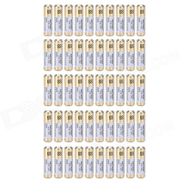GD 27A Alkaline Battery - White + Golden + Multi-Colored (50PCS) accell 27a 12v alkaline ni mh battery for r c car controller white golden 5 pcs