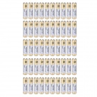 GD 27A Alkaline Battery - White + Golden + Multi-Colored (50PCS)