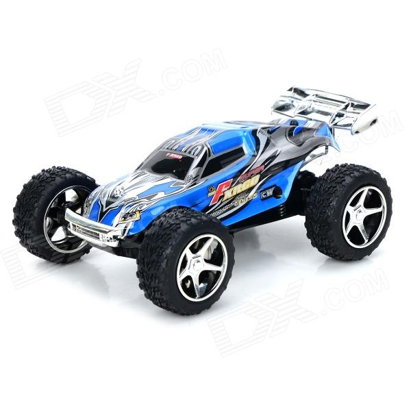 WLtoys L929 2.4GHz 5-CH 1:32 R/C Racing Car w/ Remote Control - Black Blue (4 x AA) wltoys wl r4 2 9 lcd 6 axis multi function remote controller for r c toy black 4 x aa