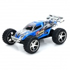 WLtoys L929 2.4GHz 5-CH 1:32 R/C Racing Car w/ Remote Control - Black Blue (4 x AA)