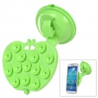 020 Universal Car Suction Cup Stand Holder for Cellphone / GPS - Green