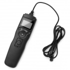 1.2'' LCD Timer Remote Control for Nikon D80/D70s - Black