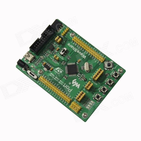 Waveshare STM32F205RBT6 MCU Development Board w / Full IO-Expander / JTAG / SWD-Debug Interface