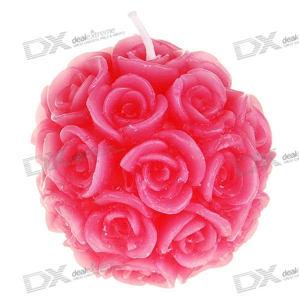 Fragrance Loslassen Charming Rose Wax Candle (Pink)