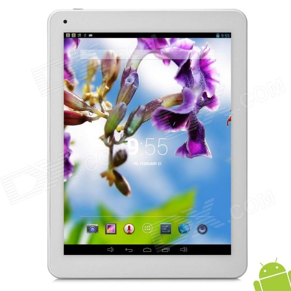 "Vido M9 9.7 ""Retina-skjerm Android 4.2 Quad Core Tablet PC m / 2GB RAM / 16GB ROM - Sølv"