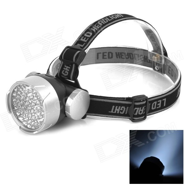 53-LED Super Headlamp Silver