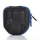 Protective PVC Camera Bag for GoPro HD Hero3 - Black + Blue