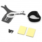 Carbon Fiber FPV for DJI Phantom Aerial FPV - Black