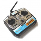 RL-R7A 7-Channel Wireless Control for R/C Car Boat Plane - Silver + Multicolored