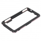 Protective PC TPU Bumper Frame for Sony Xperia Z1 Compact / Mini - Black + Pink