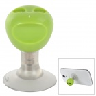 Stylish Convenient 1-to-2 3.5mm Jack Male to Female Audio Sharer for Cellphone - Green
