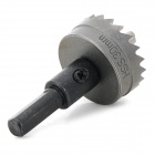 WLXY WL-K30 30mm agujero del HSS Saw Broca - Gris