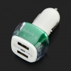 E-Strong fashion Dual USB Car Charger w / Indicador para Celular / Tablet PC / MP3 / Câmera