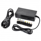 Universal Plug UE Power Adapter Set para Laptop - Preto