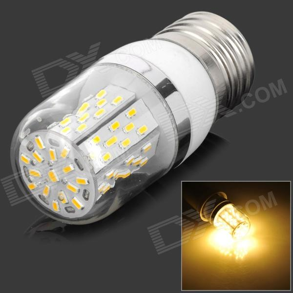 E27 5W 305lm 3500K 78-3014 SMD LED Warm White Lamp - White + Silver Grey + Multicolored (AC 85~265V) lexing lx r7s 2 5w 410lm 7000k 12 5730 smd white light project lamp beige silver ac 85 265v
