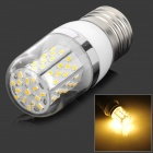E27 5W 305lm 3500K 78-3014 SMD LED Warm White Lamp - White + Silver Grey + Multicolored (AC 85~265V)