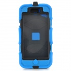 Anti-Drop Protective Plastic + Silicone Case w/ Clip for IPHONE 5C - Blue