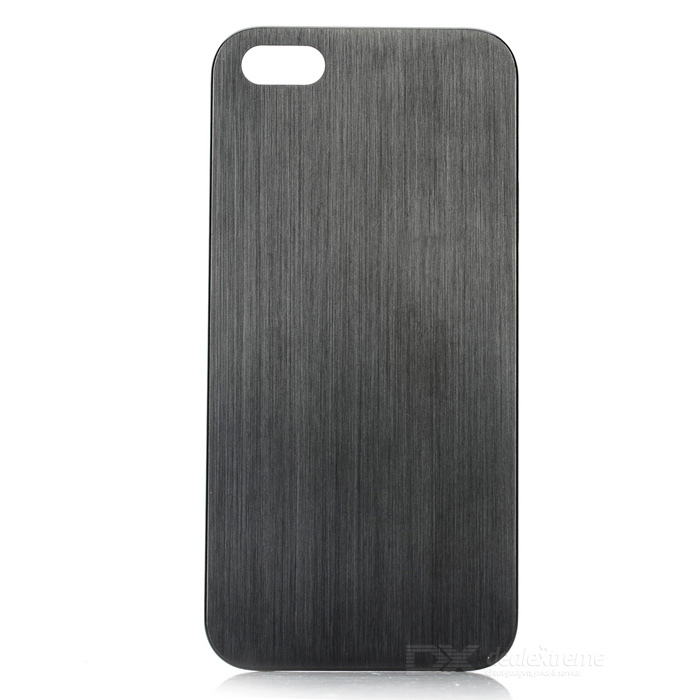 Protective Titanium Alloy Back Case for IPHONE 5 / 5S - Black