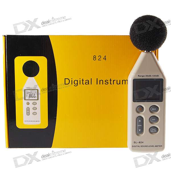 "2.2"" LCD Digital Sound Level Meter (Decibel Gage)"